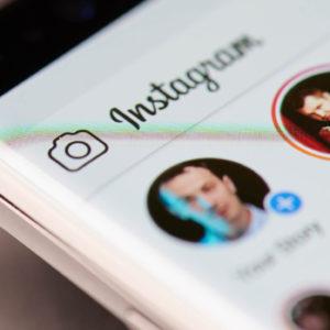 Instagram Stories auf einem Smartphone