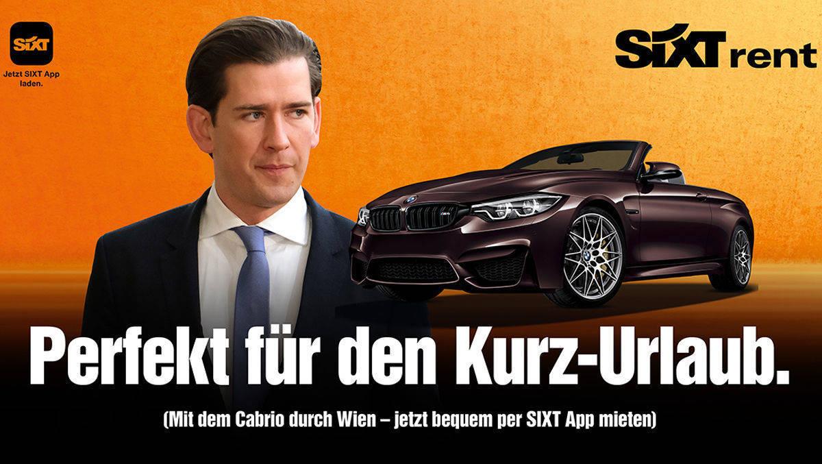 Sixt Werbung Seehofer