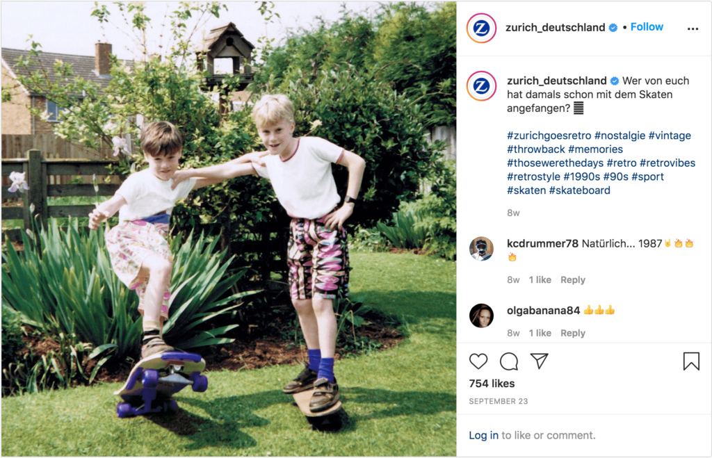 Instagram Post von Zurich Deutschland