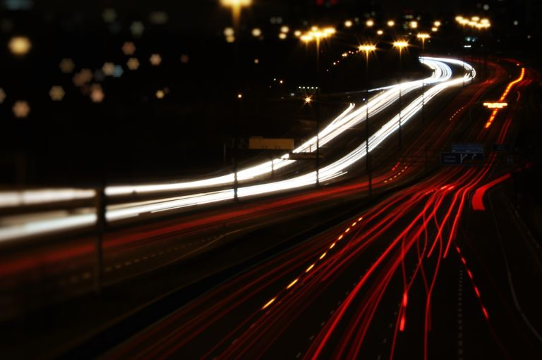 Symbolbild Datenautobahn.